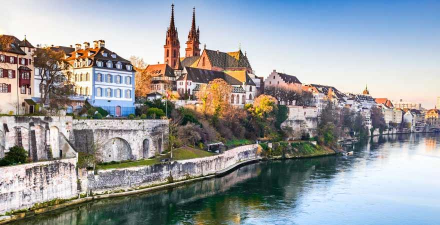 Basel in der Schweiz