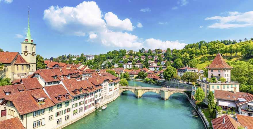 Bern in der Schweiz