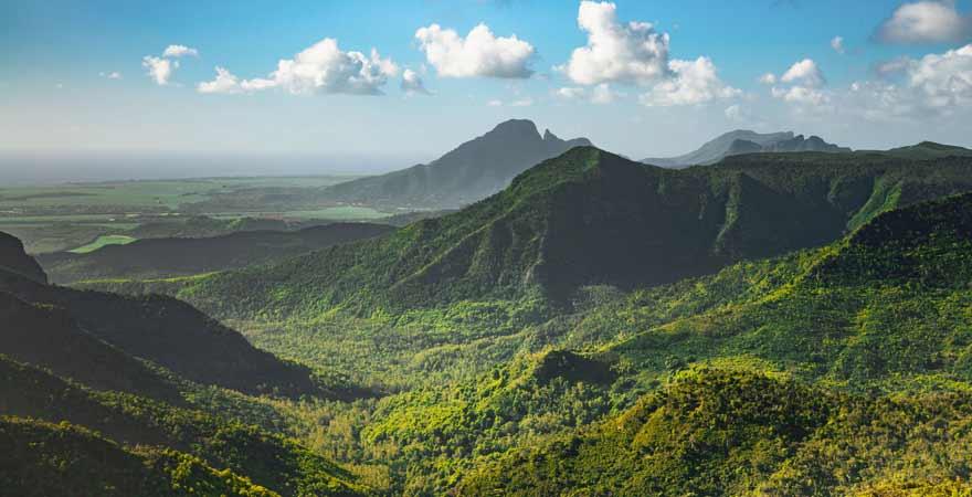 Black River Gorges Nationalpark auf Mauritius