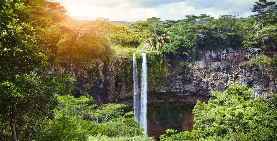 Chamarel Wasserfälle auf Mauritius