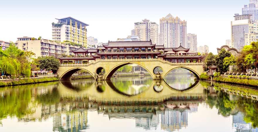 Chengde in China