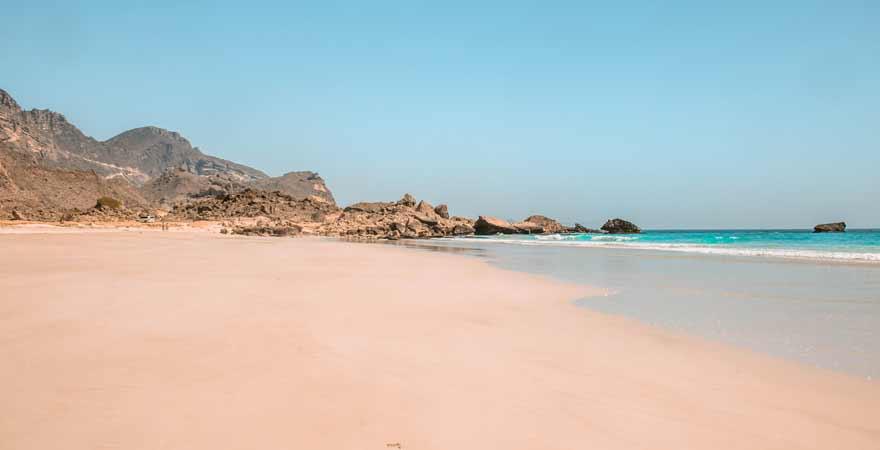 Fazaya Beach bei Salalah im Oman