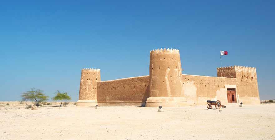Festung Zubara in Katar