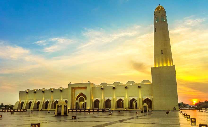 Große Moschee von Doha in Katar