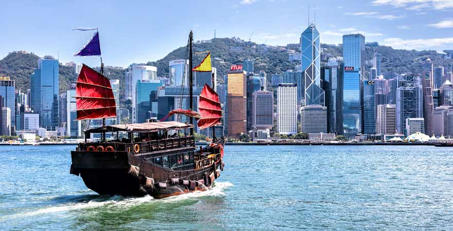 Hongkong in China