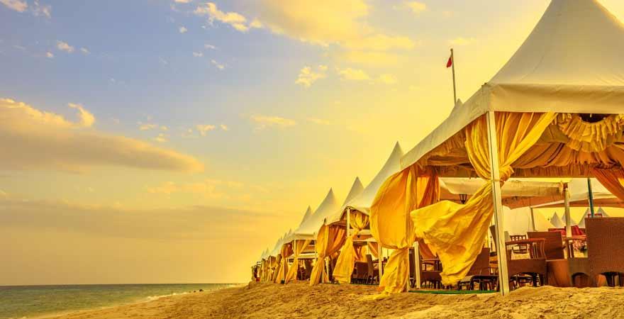 Khor al Udaid Beach in Katar