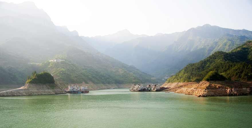 Kreuzfahrt auf dem Jangtse in China