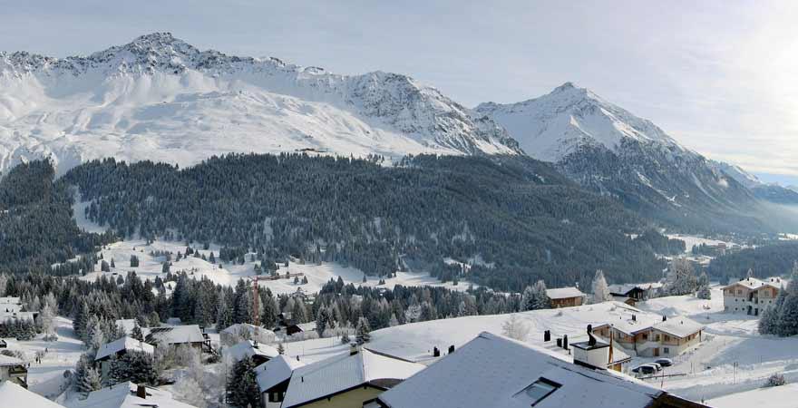 Lenzerheide in der Schweiz