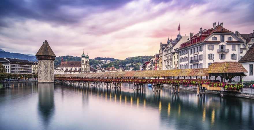 Luzern in der Schweiz