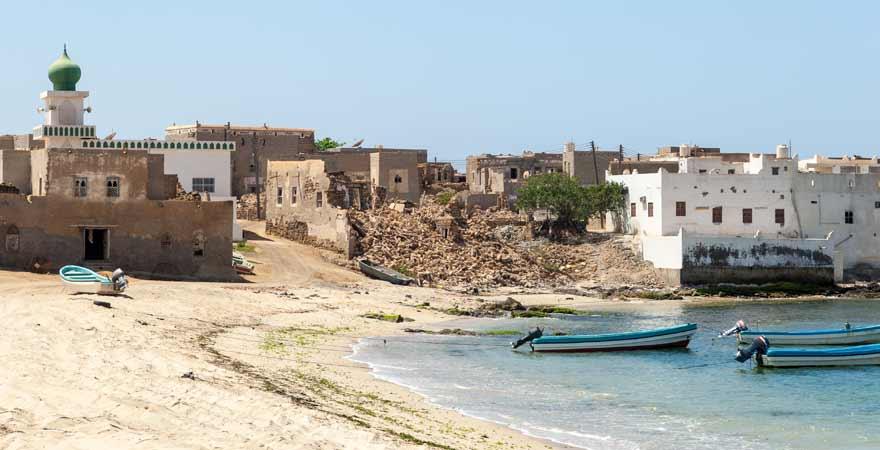 Mirbat im Oman