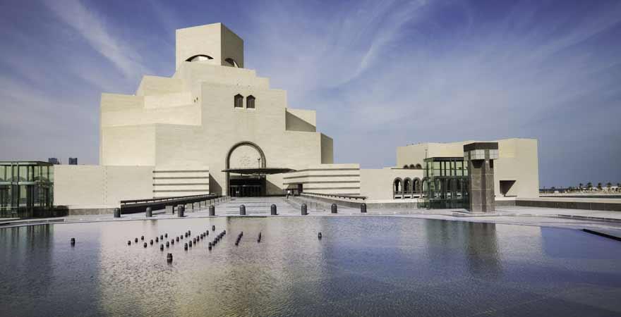 Museum fuer Islamische Kunst in Doha in Katar