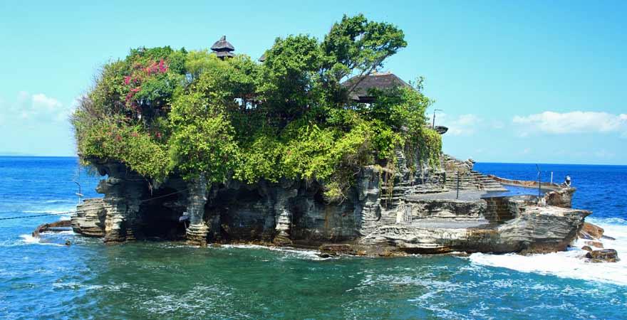 Tempel Pura Tanah Lot auf Bali