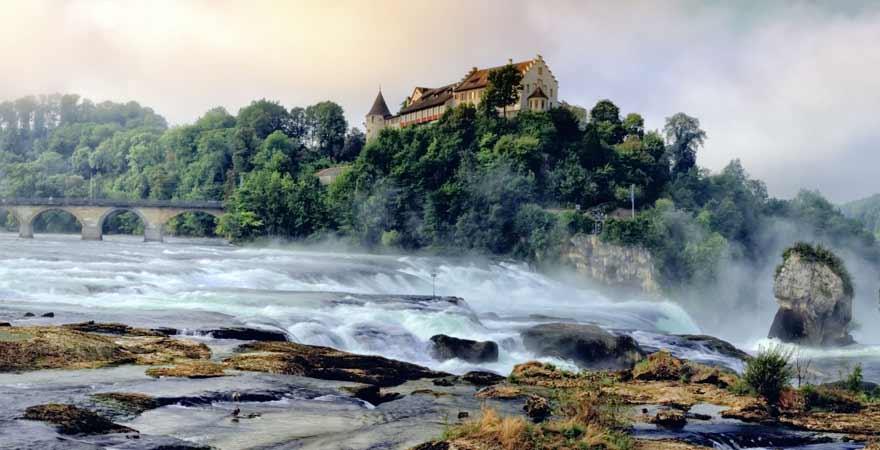 Rheinfall von Schaffhausen in der Schweiz