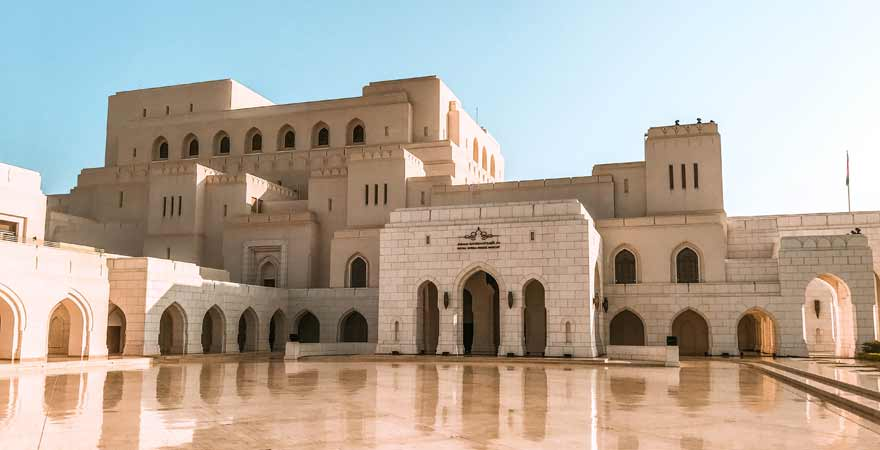 Royal Opera House in Maskat im Oman