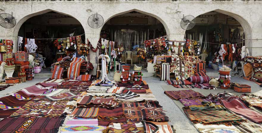 Souq Waqif in Doha in Katar
