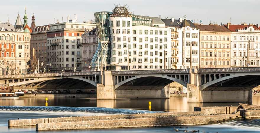 Tanzendes Haus in Prag