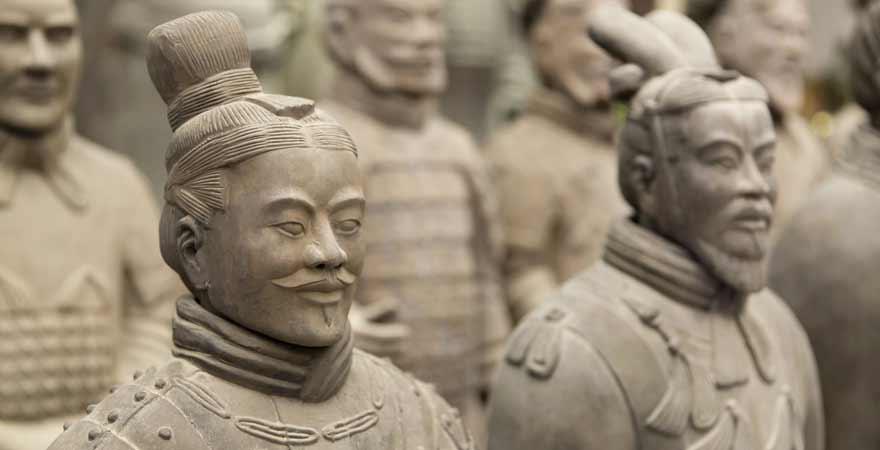 Terrakotta Armee in Xi'an in China