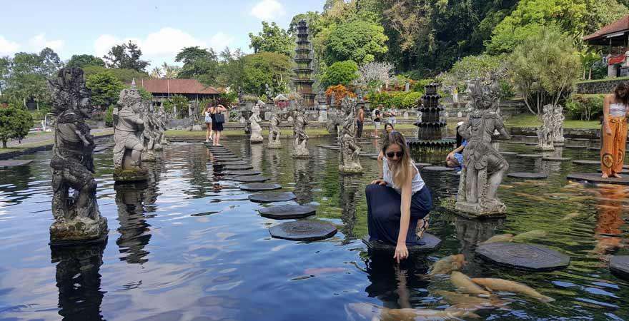 Wasserpalast Tirta Gangga auf Bali