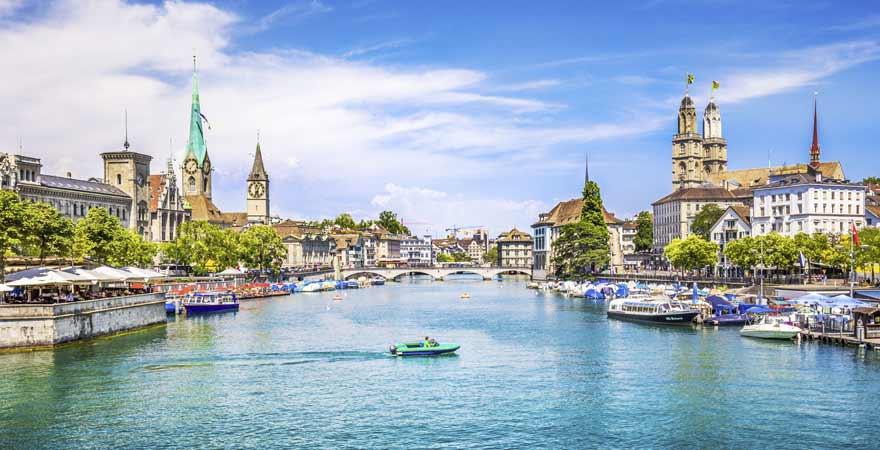 Zuerich in der Schweiz