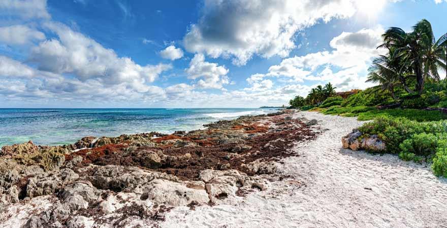 Akumal auf Yucatan in Mexiko