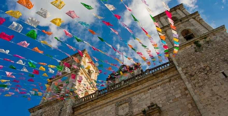 San Servacio in Valladolid auf Yucatan in Mexiko