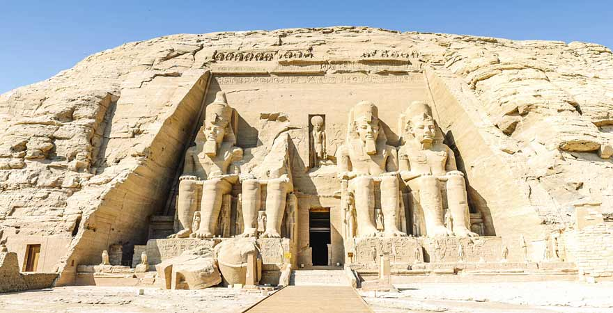 Abu Simbel in Aegypten