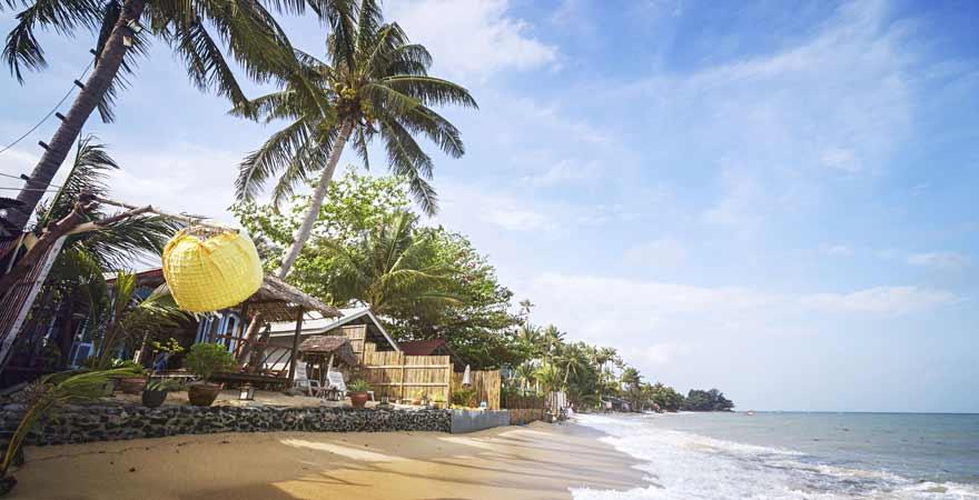 Bang po auf Koh Samui in Thailand