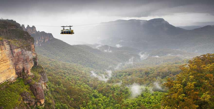 Blue Mountains in Australien