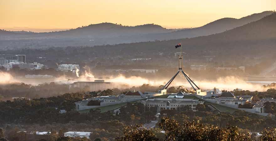 Canberra in Australien