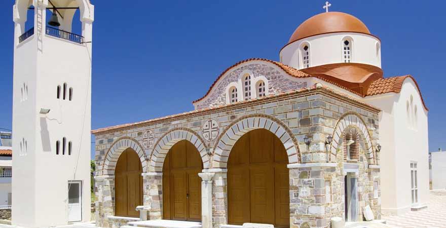 Antimachia Kirche auf Kos in Griechenland