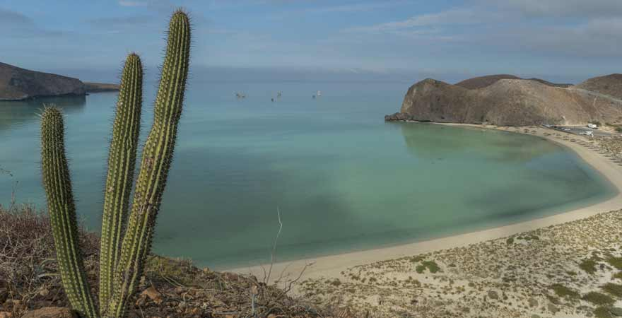 Playa Balandra in Mexiko