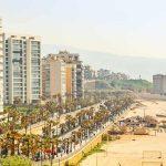 Strand in beirut im Libanon