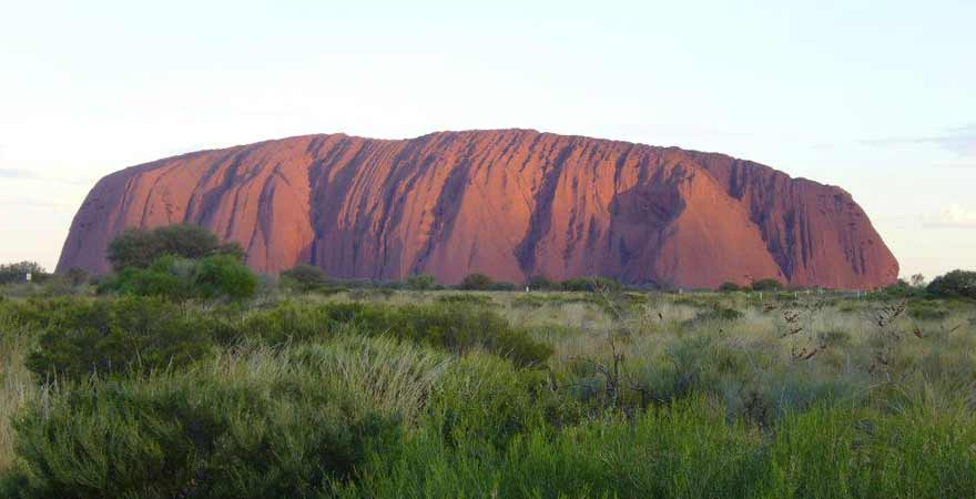 Uluru Ayers Rock in Australien