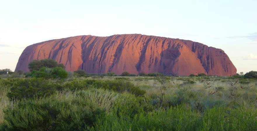 Uluru Ayers Rock in Australien