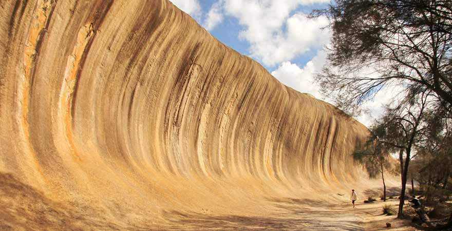 Wave Rock in Australien