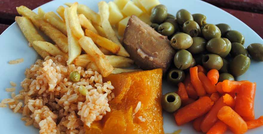 Essen auf Kuba