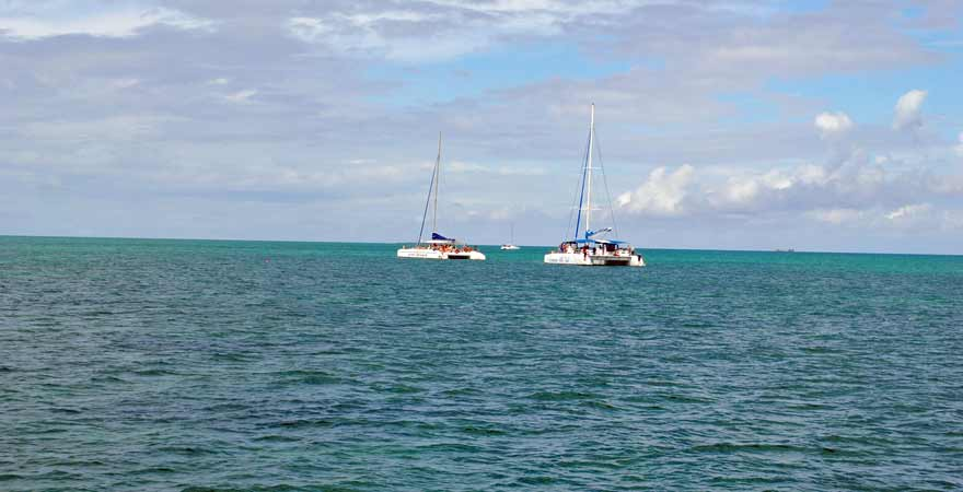 Katamarane auf Kuba