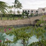 Bruecke im Salalah Rotana Resort im Oman