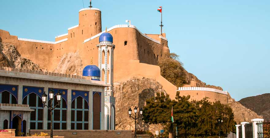 Fort Mirani in Maskat im Oman