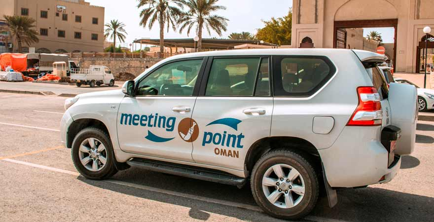 Meeting Point Auto in Nizwa im Oman