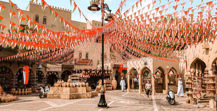 Souk in Nizwa im Oman