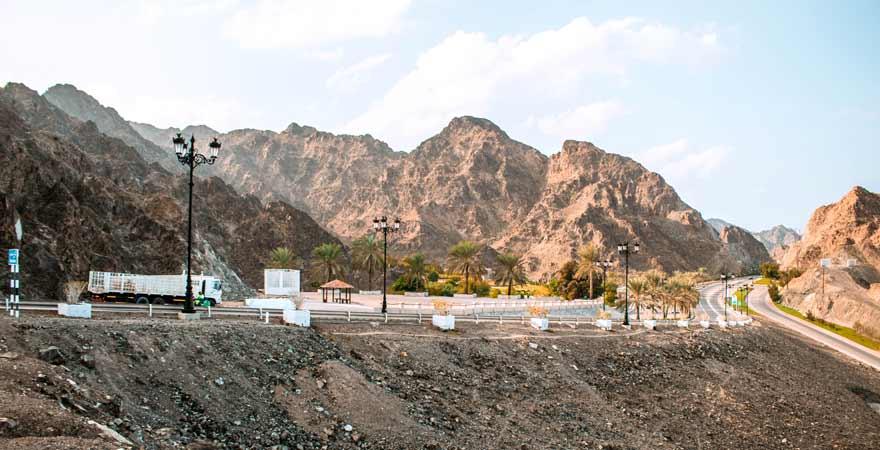 Straße im Oman