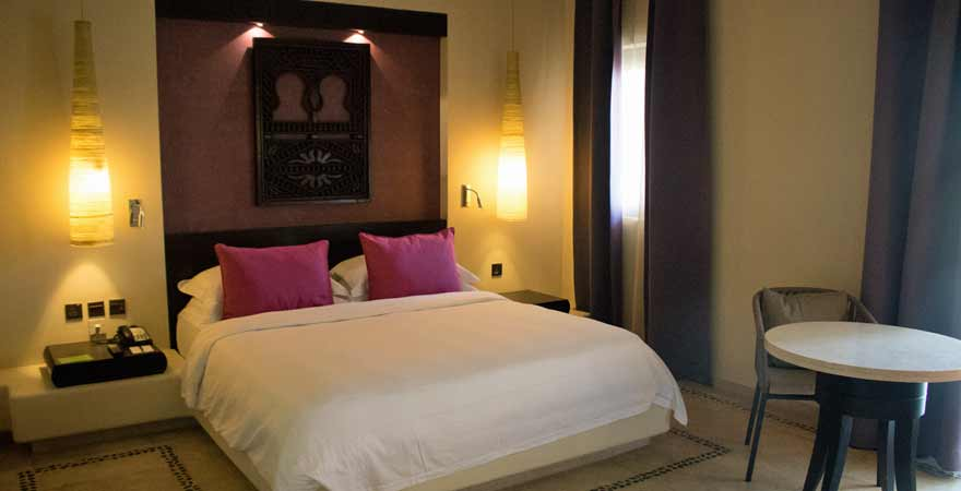 Zimmer im Salalah Rotana Resort im Oman