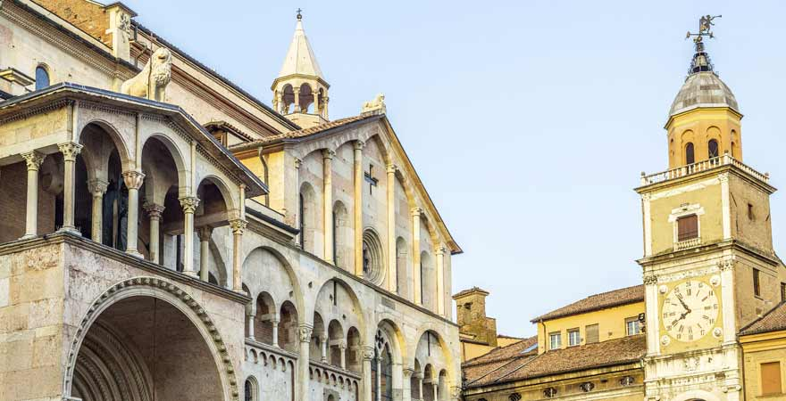 Assunta e San Geminiano in Modena in Italien