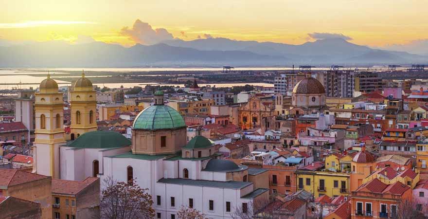 Cagliari in Italien