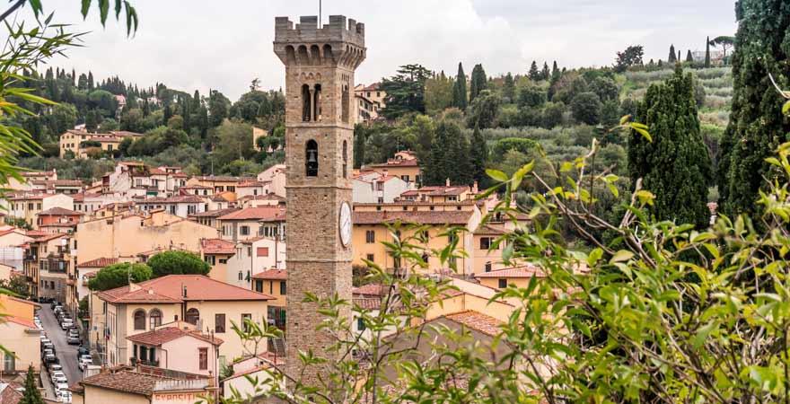 Fiesole in Italien