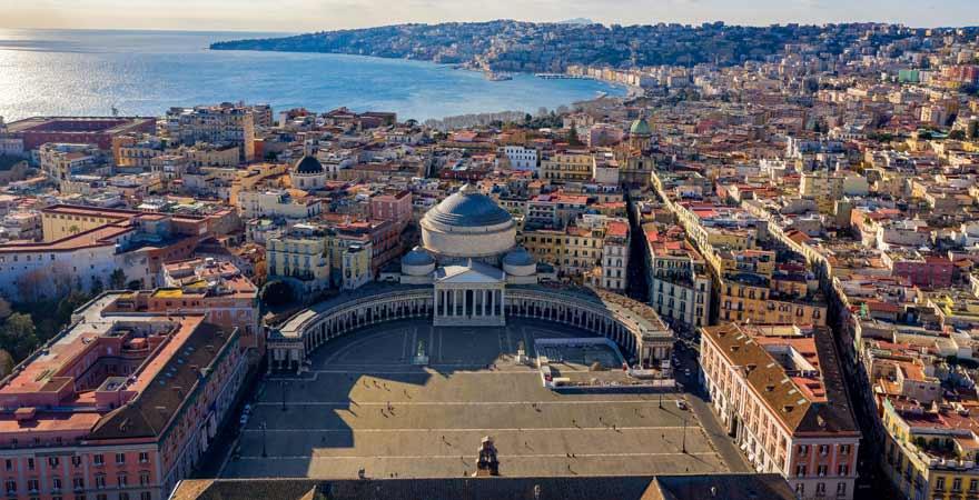 Neapel in Italien