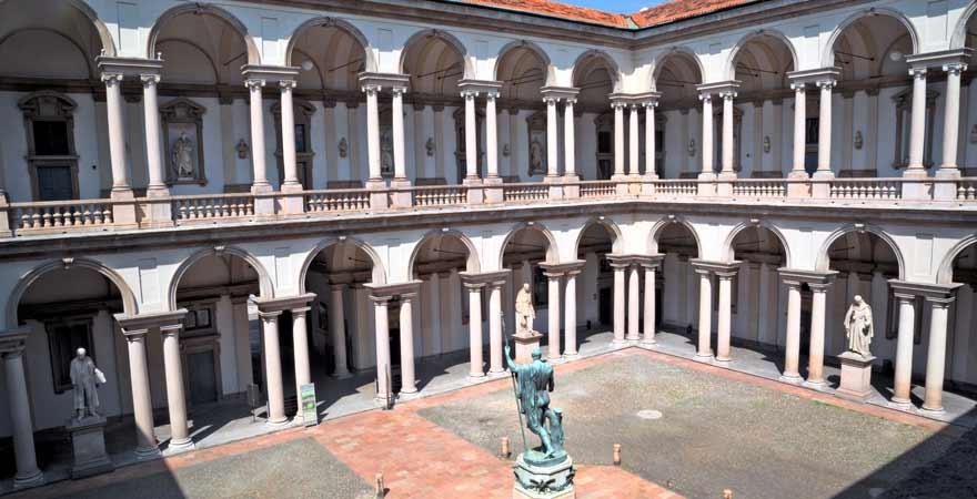 Pinacoteca di Brera in Mailand in Italien