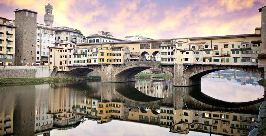 Ponte Vecchio in Florenz in Italien
