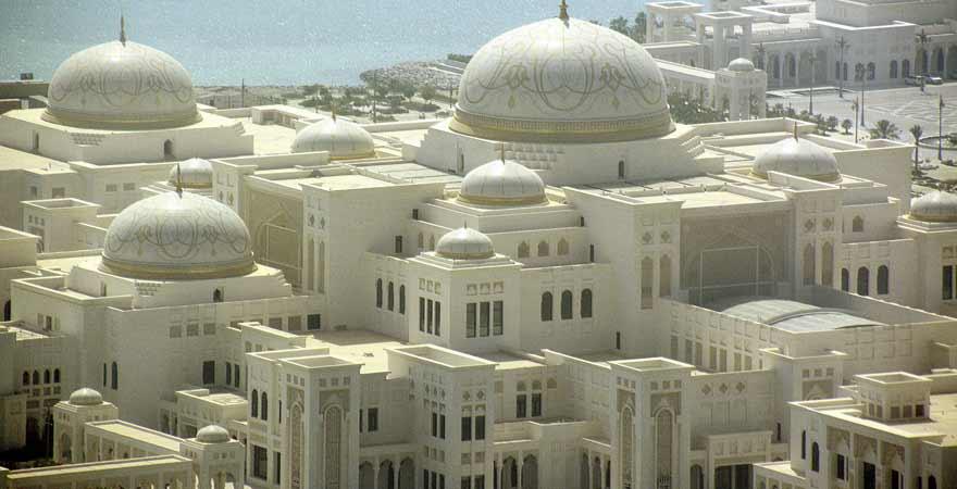 Qasr al Watan in Abu Dhabi in den VAE
